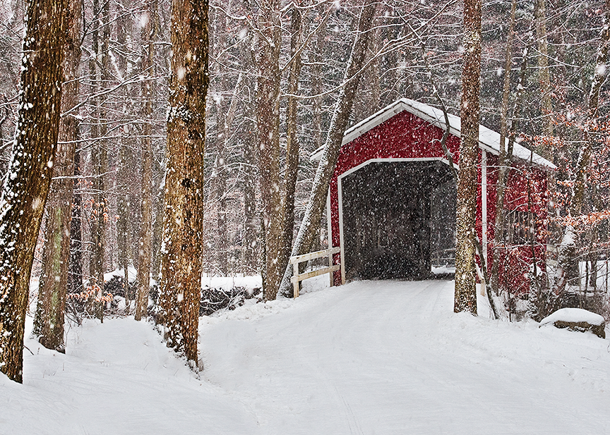 Laurel Highlands Pennsylvania Covered Bridge