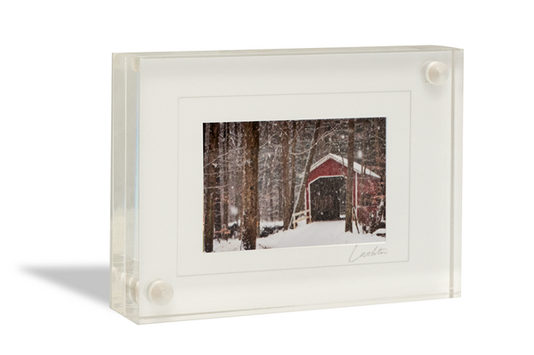 Laurel Highlands Pennsylvania Covered Bridge <br>Original Photograph