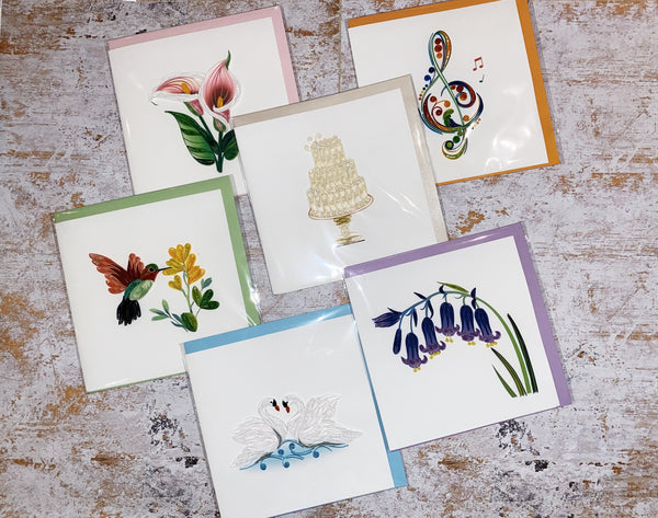 Handcrafted Quilling Cards