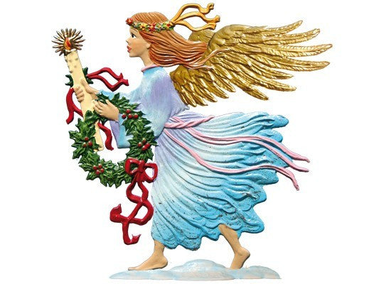 Wilhelm Schweizer 2013 Commemorative Pewter Angel Ornament