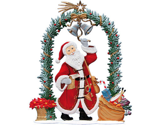 Wilhelm Schweizer 2015 Commemorative Pewter Santa Ornament