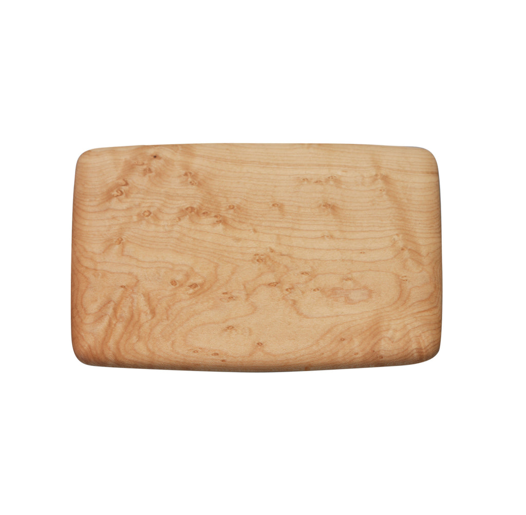 Edward Wohl Pate board birds eye maple