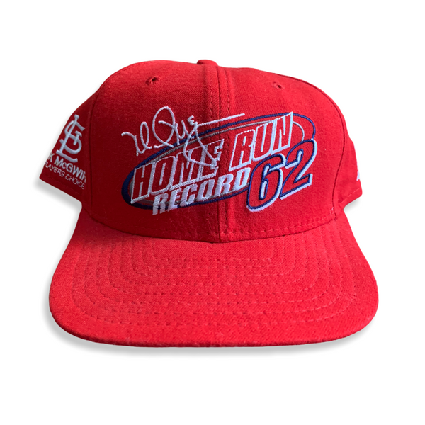 Mark McGwire Home Run Record Vintage SnapBack Hat