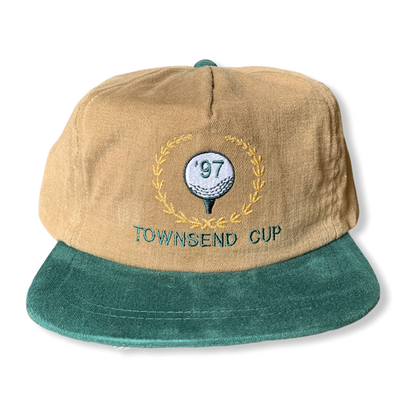 Townsend Cup Vintage 1990s Golf Strapback Hat