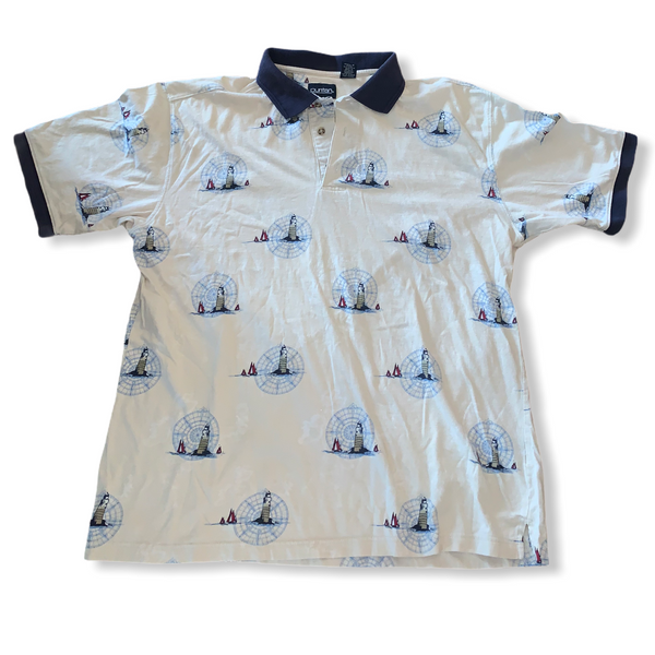 Puritan Vintage Golf Polo Medium
