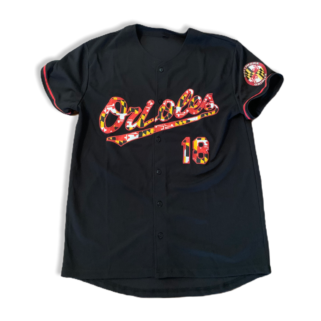 Baltimore Orioles Maryland Flag Jersey