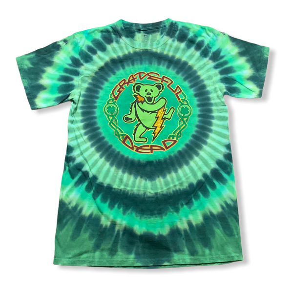 Grateful Dead Dancing Bear St. Patrick's Day Tee