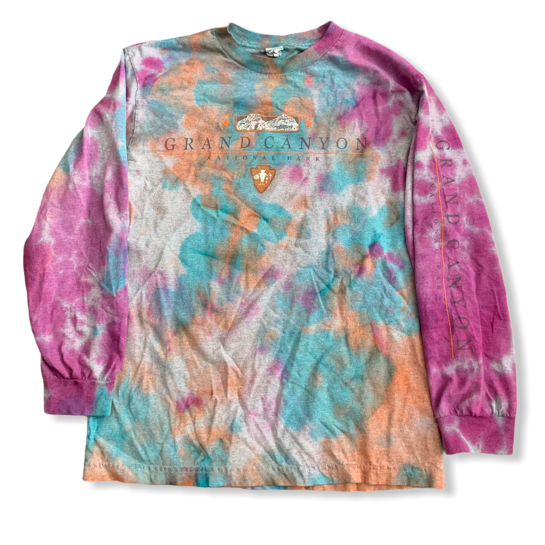 Grand Canyon Vintage Tie Dye Tee Medium