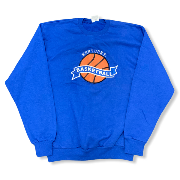 Kentucky Wildcats Basketball Vintage Crewneck Medium