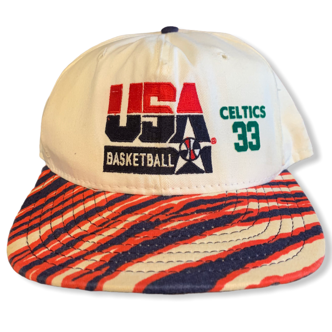 Larry Bird 1992 Olympics USA Basketball SnapBack Hat