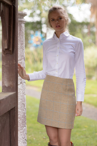 Tweed A-Line Skirt - Alice & Country