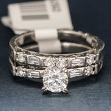 Tacori Platinum and Diamond Wedding Band- Stacking Band - Style 2222B