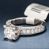 Tacori Platinum Engagement Ring with Diamonds - Style HT2229A