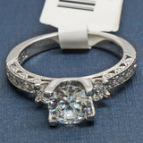 Tacori Platinum Engagement Ring with Diamonds - Style HT2259