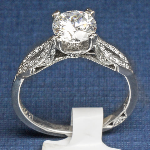 Tacori Platinum and Diamond Engagement Ring - Style 2573