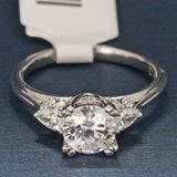 Tacori Platinum Engagement Ring with Diamonds - Style HT2311