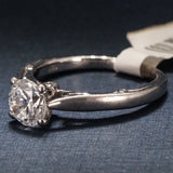 Verragio 18K White Gold Engagement Ring with Diamonds - Style 0409R
