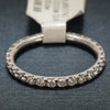18K White Gold Diamond Ring - Ladies Eternity Band- Stackable Verragio Style ENG0350W