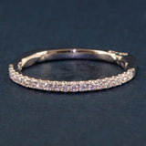 Classic A. Jaffe Diamond Wedding Band- Diamond Anniversary Band- Stackable Ring