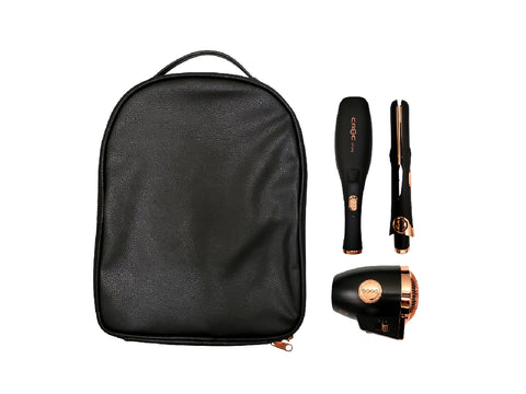 Rose Gold Plug In Travel Kit