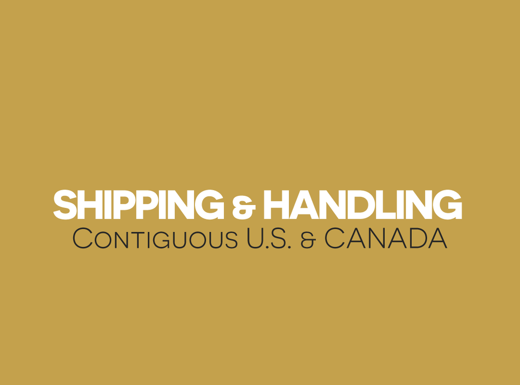 Shipping and Handling fees