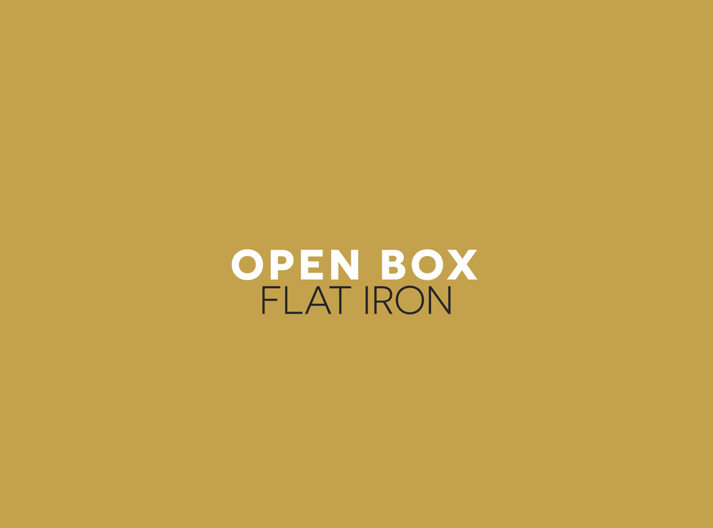 Open Box/Display Model Flat Irons