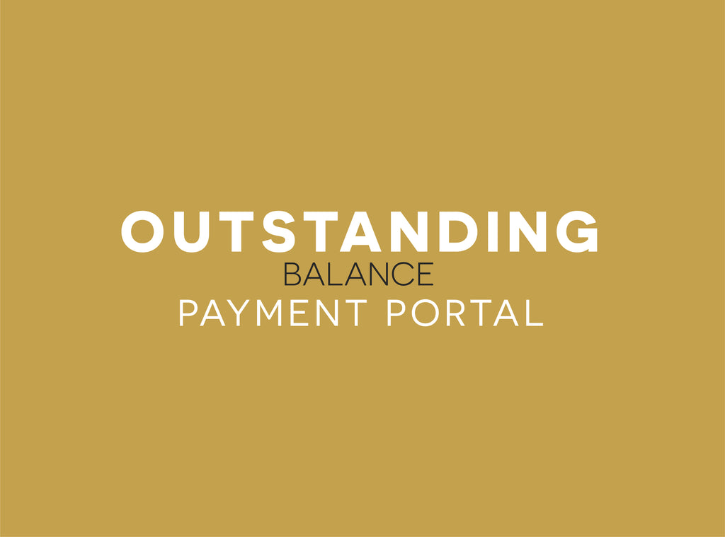 Outstanding Balance Payment Portal