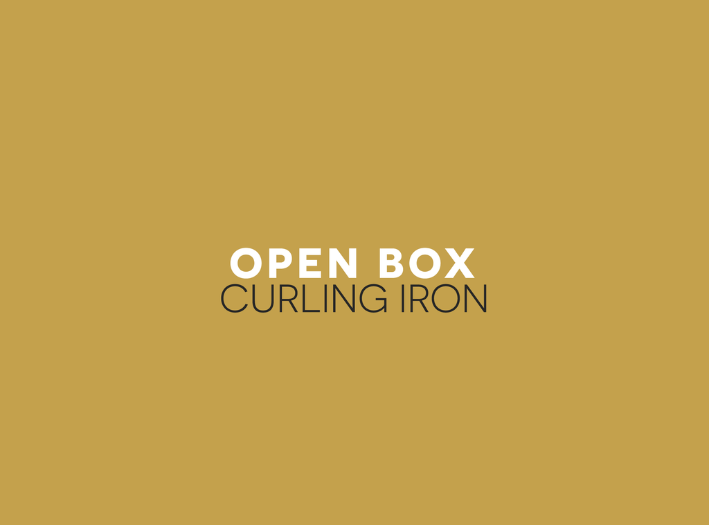 Open Box/Display Model Curling Iron