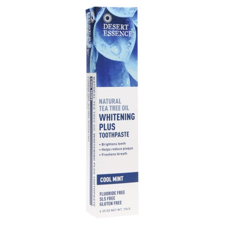 Oral Hygiene- Natural Tea Tree Oil Toothpaste - Whitening Plus Cool Mint