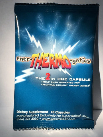 ener THERMO getics ON THE GO PACKET