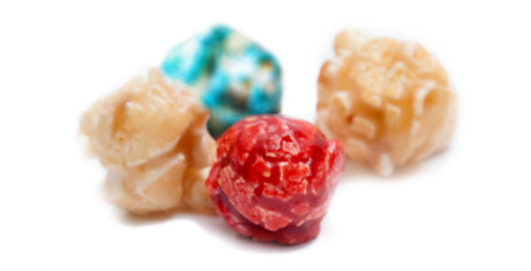 Beautiful Ohio Blend Popcorn - Blue Raspberry, Red Cherry, and Vanilla Popcorn