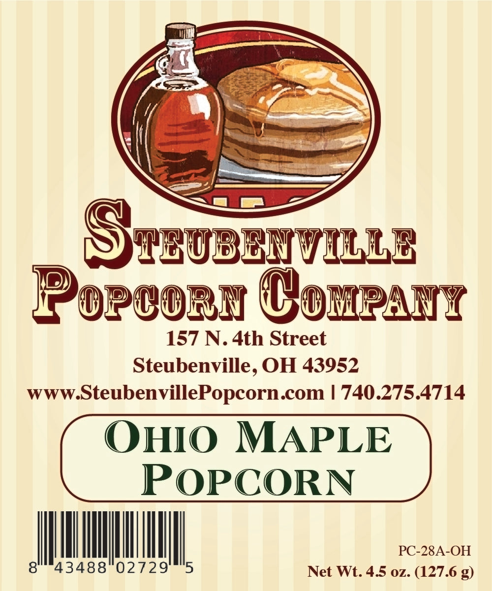 Ohio Maple Popcorn