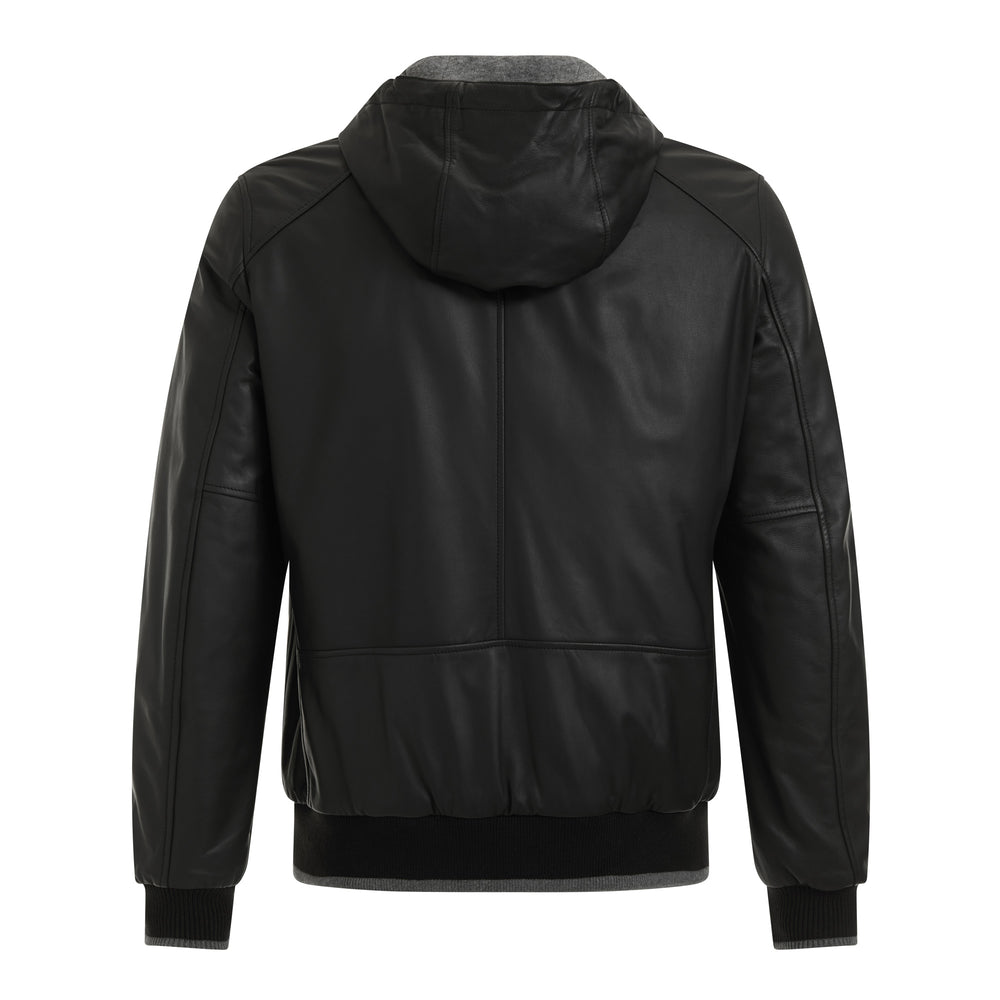 Mick Zip Up Leather Jacket