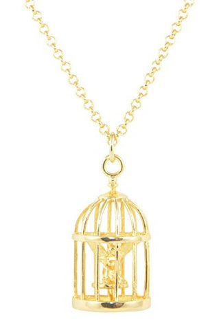 Disney Couture Tinker Bell Cage Necklace