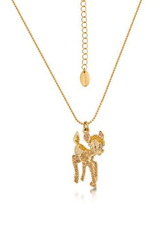 Disney Couture Bambi Crystal Necklace