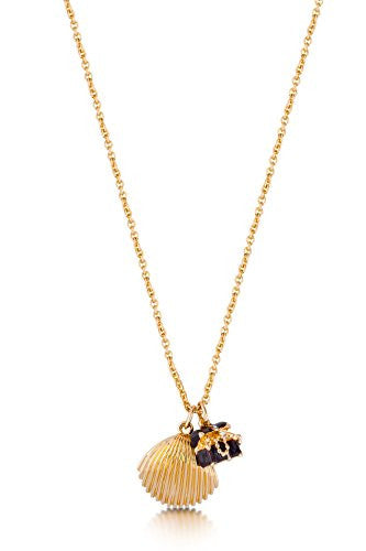 Disney by Couture Kingdom Mermaid Shell and Treasure Chest Necklace