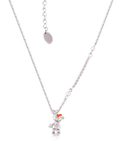 Disney by Couture Kingdom Frozen 3D Olaf Snowman Necklace
