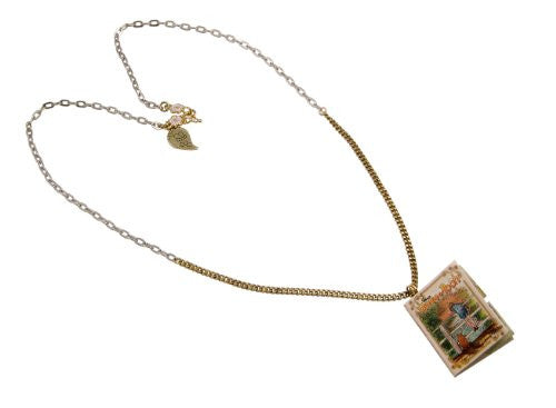 Disney Couture Winnie the Pooh Map Book Necklace