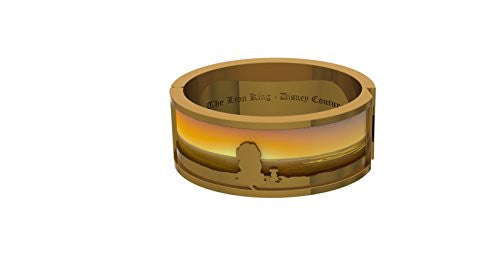 Disney by Couture Kingdom The Lion King Simba and Mufasa Serengeti Bangle Bracelet