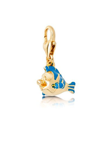 Disney Couture Little Mermaid Flounder Charm
