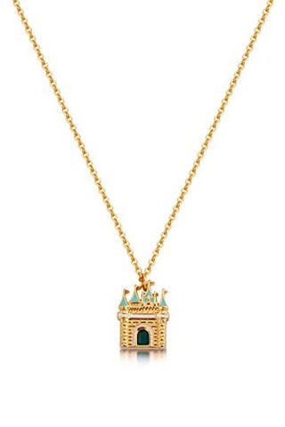 Disney by Couture Kingdom Magic Castle Necklace