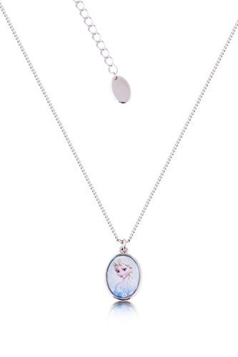 Disney by Couture Kingdom Frozen Elsa Small Cameo Necklace