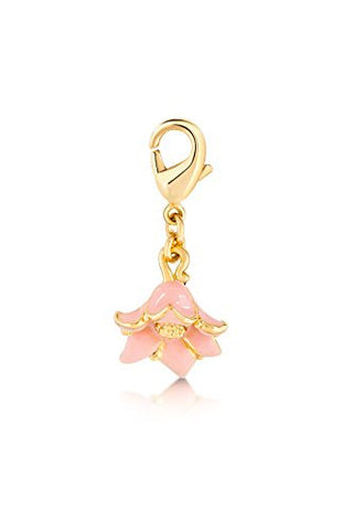 Disney by Couture Kingdom Aladdin Jasmine's Pink Flower Charm