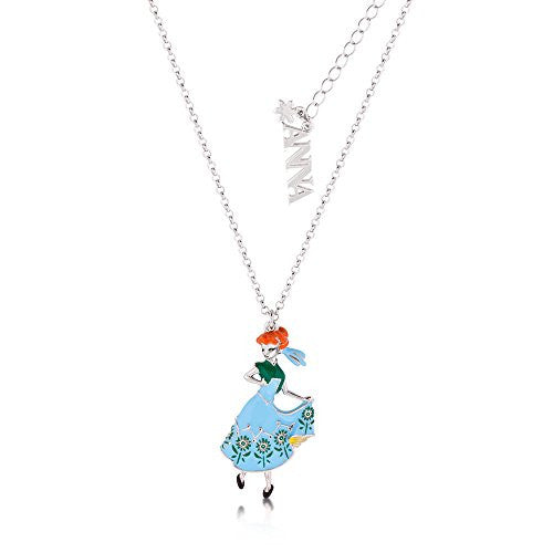 Disney by Couture Kingdom Frozen Princess Anna Pendant Necklace
