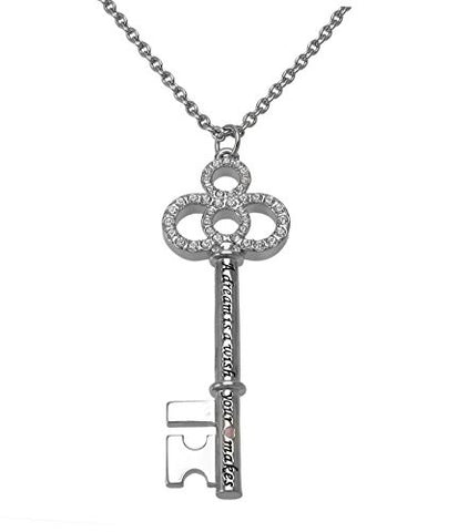 Disney by Couture Kingdom Cinderella Key Pendant Necklace