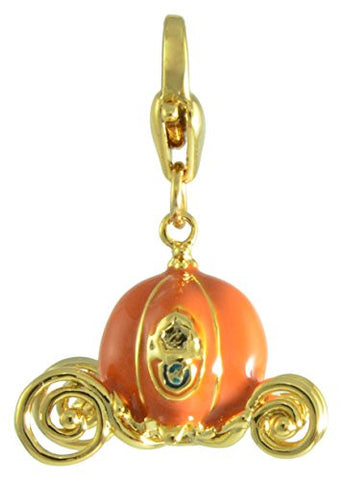Disney by Couture Kingdom Cinderella Pumpkin Carriage Charm