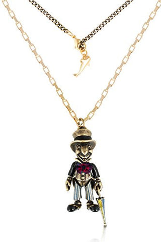 Disney Couture Icon Pinocchio Jiminy Cricket Necklace