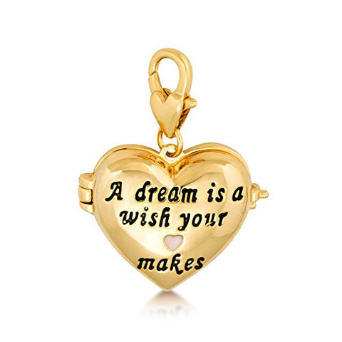 Disney Couture Cinderella Heart Locket Charm