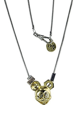 Disney Couture Dr. X Romanelli Mickey Head Necklace