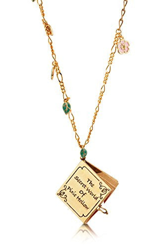 Disney by Couture Kingdom Tinker Bell Pixie Hollow Map Necklace
